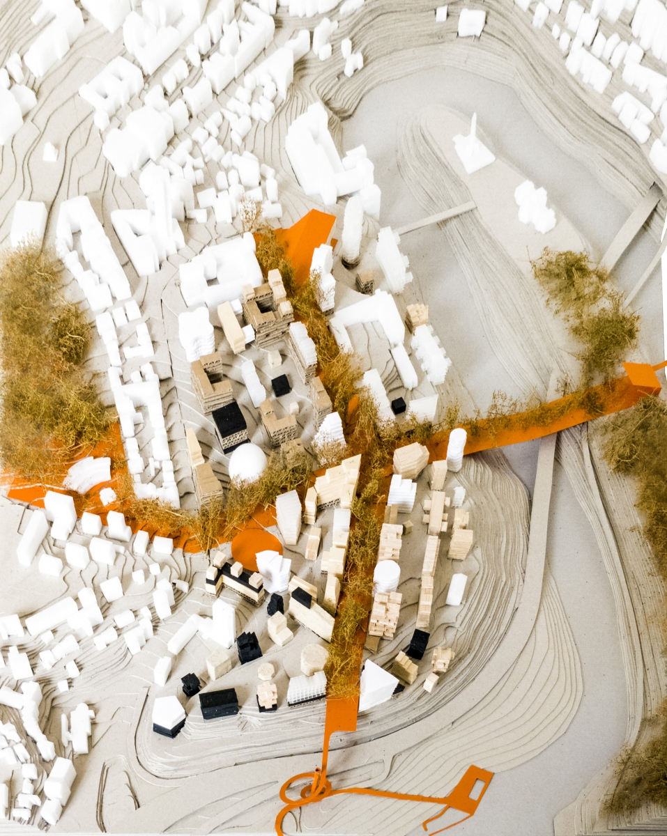 1.QTA_Veliko-Tarnovo_Masterplan-Model-Bird-View