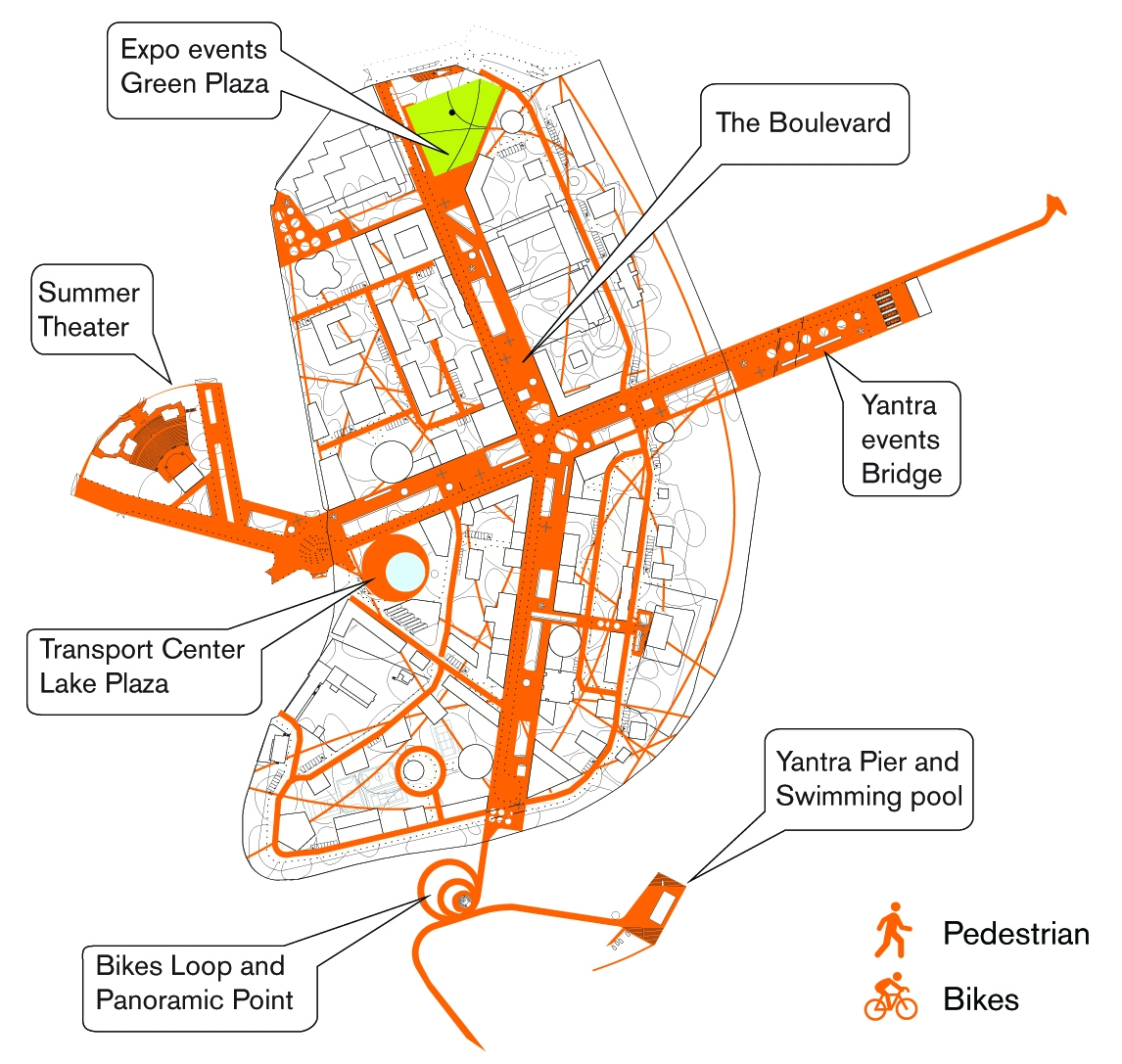 10.QTA_Veliko-Tarnovo_Masterplan-Public-space-and-events-Diagram